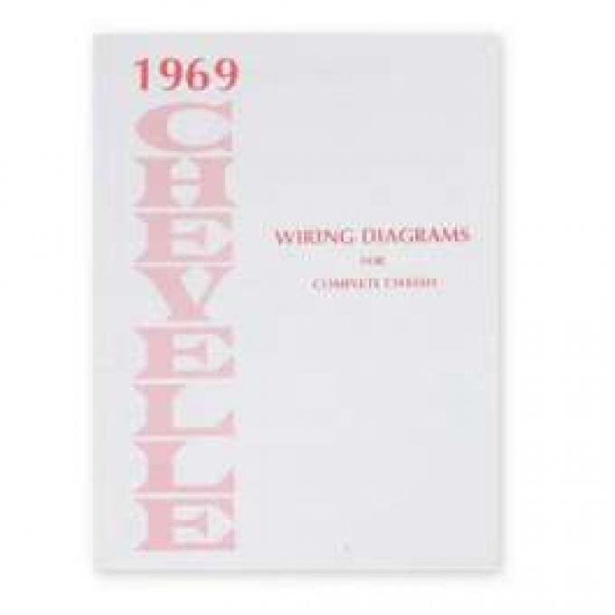 Chevelle Wiring Diagram Manual,1969