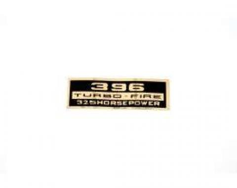 Chevelle Decal, Valve Cover, 396/325hp, 1966