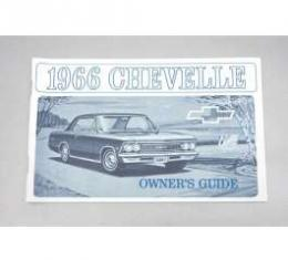 Chevelle Owner's Manual, 1966