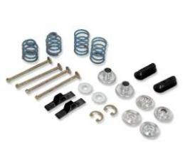 Chevelle Drum Brake Shoe Mounting Hardware Kit, Front, 1967-1972