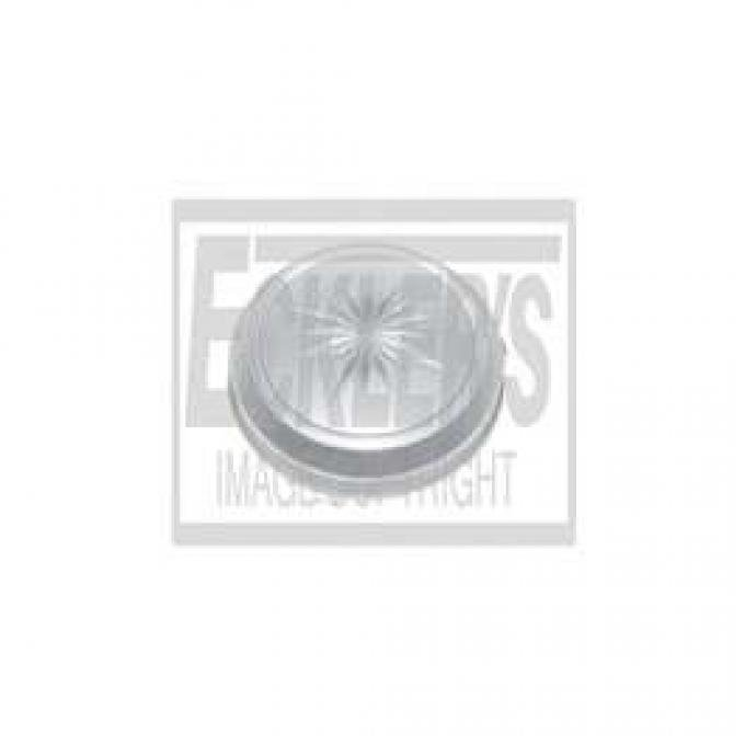 Chevelle & Malibu Dome Light Lens, For All Cars Except Convertible, 1971-1983