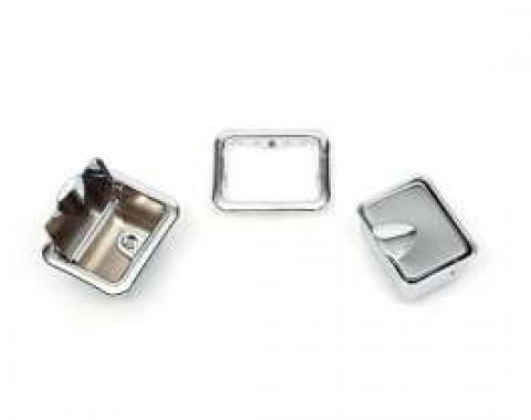 Chevelle Armrest Ashtrays, Rear, Convertible, 1964-1967