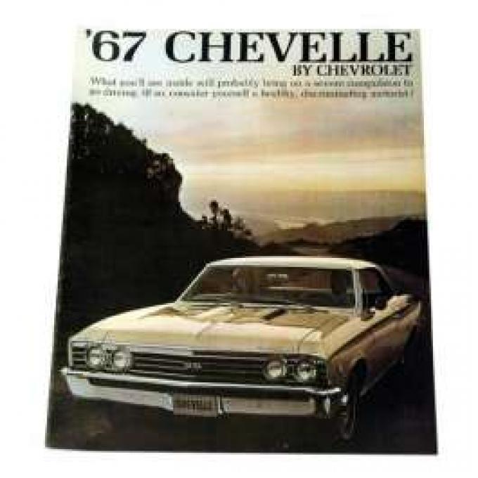 Chevelle Literature, Color Sales Brochure, 1967