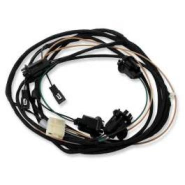 Chevelle Rear Body Wiring Harness, 2-Door Sedan & Coupe, For Cars With Back-Up Lights, 1964
