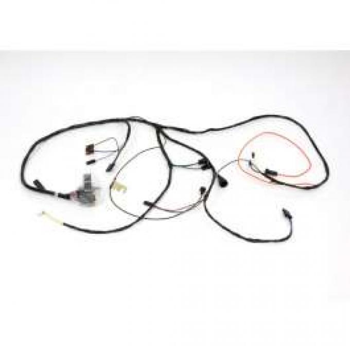 Chevelle Engine Wiring Harness, 6 Cylinder, For Cars With Manual Transmission, 1970