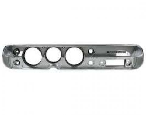 Chevelle Instrument Cluster Bezel, For Cars Without Air Conditioning, 1965