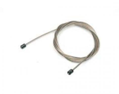 Chevelle Cable, Parking Brake, Intermediate, El Camino With TH400, 1968-1972