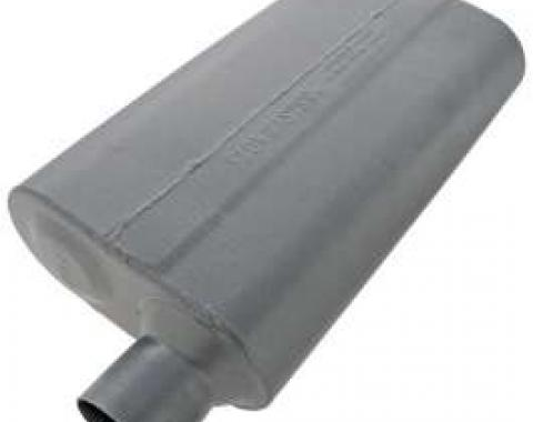 Chevelle Muffler, 2.5, Offset/Offset, 50 Series Performance, Flowmaster, 1964-1972