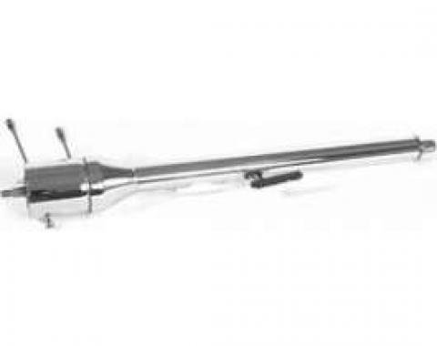 Ididit 1966 Chevelle Tilt Floor Shift Steering Column - Steel
