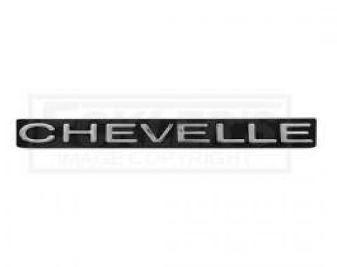Chevelle Grille Emblem, Chevelle, 1970