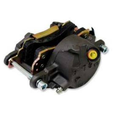 Chevelle Disc Brake Caliper, Left, Front, With Pads, 1964-1972