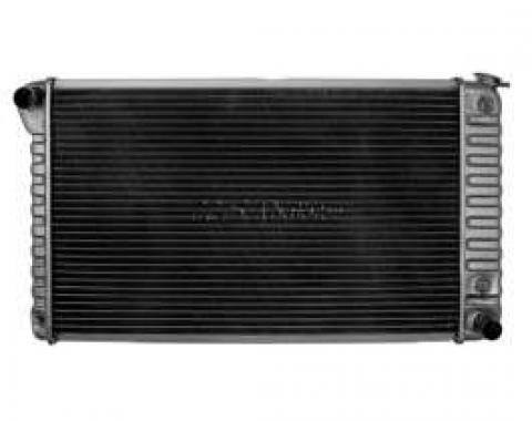 Chevelle Radiator, Small Block, 4-Row, For Cars With Manual Transmission & With Or Without Air Conditioning, Desert Cooler, U.S. Radiator, 1968-1971