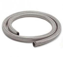 Chevelle Heater Hose, Sleeved, Stainless Steel, 3/4 x 6'