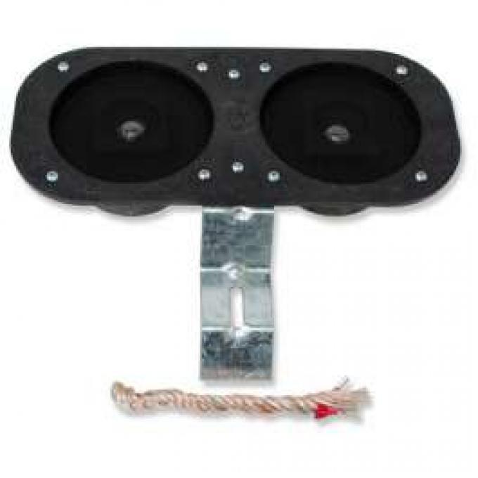 Chevelle Speakers, Dual Front, 50 Watt, 1964-1965