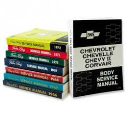 Chevelle Literature, Body By Fisher Manual, 1968