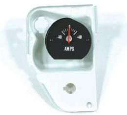 Chevelle Amp Gauge, With White Numbers, Super Sport (SS), 1971-1972