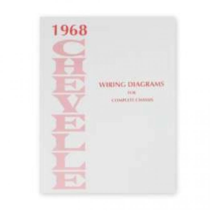 Chevelle Wiring Diagram Manual, 1968