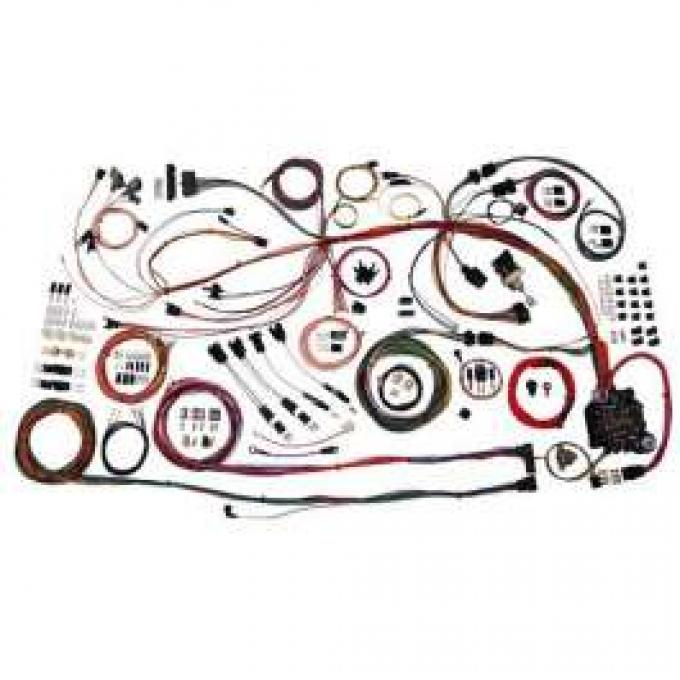 Chevelle Complete Car Wiring Harness Kit, Classic Update, American Autowire, 1968-1969