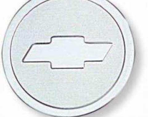 Chevelle Seat Belt Buckle Emblems, Bowtie, 1964