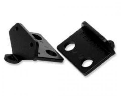 Chevelle Cowl Induction Door Pivot Supports, 1970-1972
