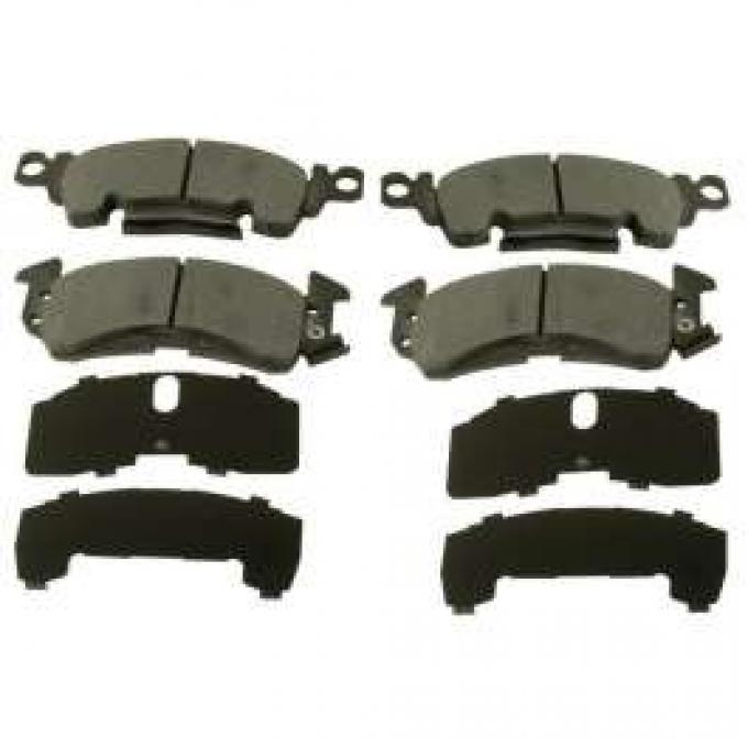 Chevelle Disc Brake Pad Set, Front, Ceramic, For Cars With Large Calipers, 1964-1972