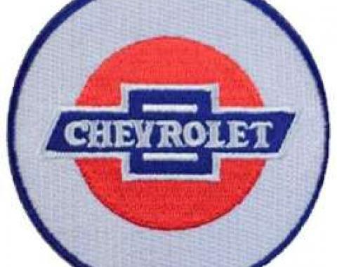 Chevrolet Iron-On Patch, 3 Diameter