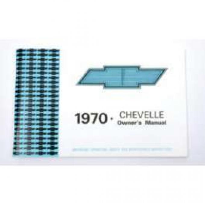Chevelle Owner's Manual, 1970