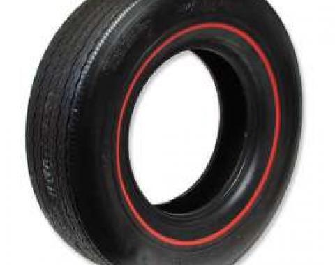 Chevelle Tire, Firestone Wide Oval, E70X14, Redline, All Years