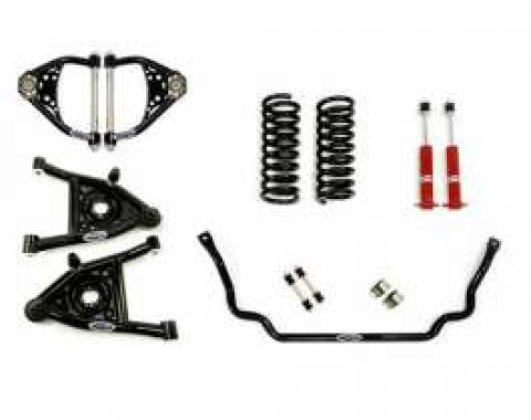 Chevelle Front Suspension, Speed Kit 1, Small Block And LS Motors, Detroit Speed (DSE), 1973-1977