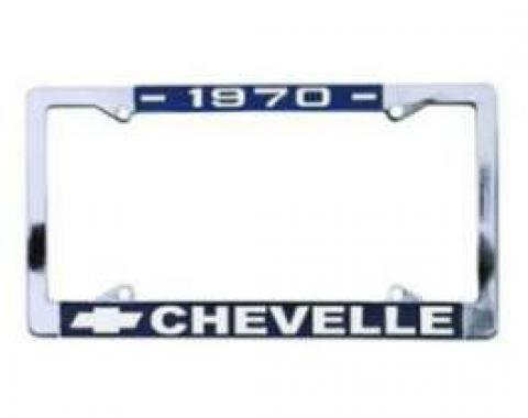 Chevelle License Plate Frames, 1969