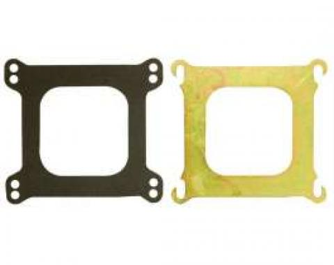 Chevelle Carburetor Adapter Plate, Square Bore To Spread Bore, Edelbrock, 1964-1972