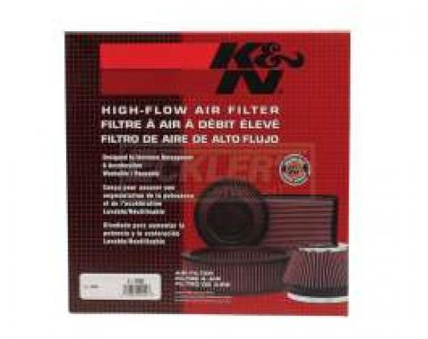 Chevelle Air Filter Element, 14 Diameter, 4 High, K&N, 1964-1972