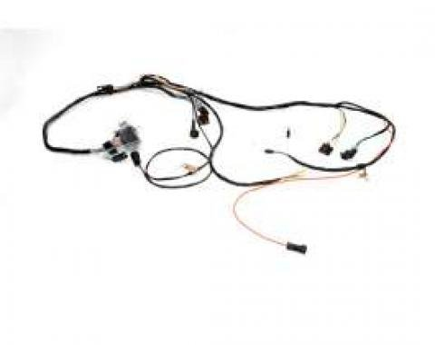 Chevelle Engine Wiring Harness, Small Block, For Cars With Turbo Hydra-Matic TH400 Automatic Transmission, 1971