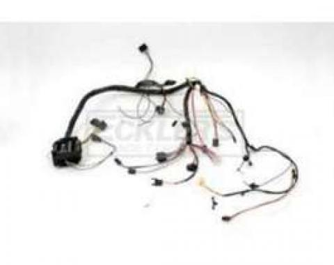 Chevelle Dash Wiring Harness, Main, For Cars With Standard Sweep Dash & Seat Belt Warning, 1972