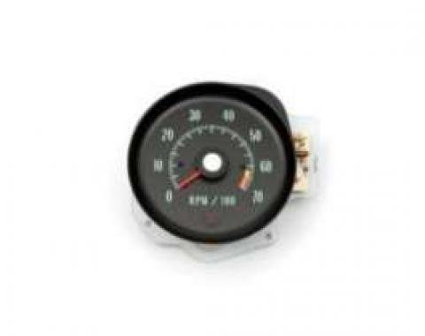 Chevelle Tachometer, 6500 RPM Redline, 1970