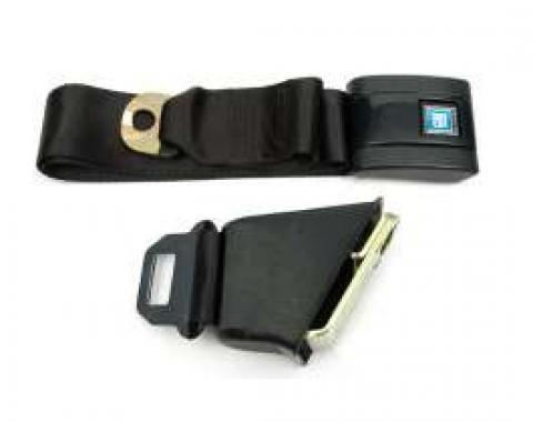 Chevelle Seat Belt, Lap, With Retractor, For Cars With Standard Bucket Seat, Right, 1968-1972