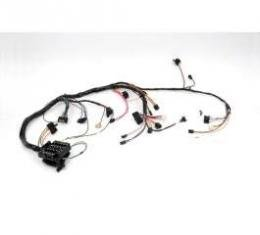 Chevelle Dash Wiring Harness, Main, Super Sport (SS), For Cars With Factory Gauges & Without Seat Belt Warning, 1972