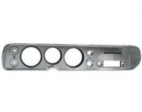 Chevelle Instrument Cluster Bezel, For Cars Without Air Conditioning, 1964