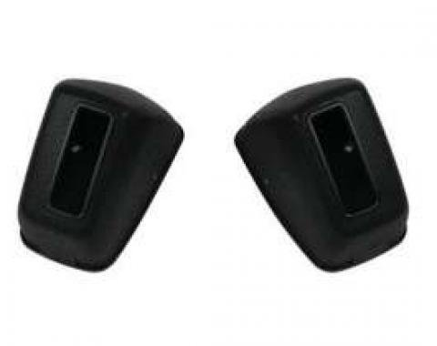 Chevelle Seat Belt Retractor Covers, RCF-300 Safety Code, For Cars With Deluxe Interior, 1965-1970