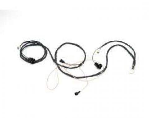 Chevelle Rear Body Wiring Harness, Wagon, For Cars With Back-Up Lights & Without Power Tailgate Window, 1964