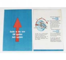 Chevelle Literature, Ignition Lock Sleeve, 1969-1972