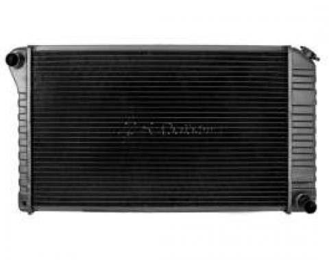 Chevelle Radiator, 2 5/8 Thick 396, 454 Auto With Air, 1972