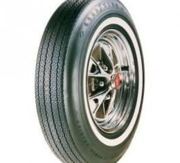 Chevelle Tire, 6.95/14 With 7/8 Wide Whitewall, Goodyear Power Cushion Bias Ply, 1965-1966