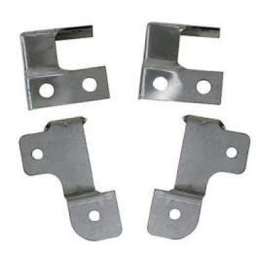 Chevelle Brackets, Air Conditioning Condenser Mounting, 1970-1972