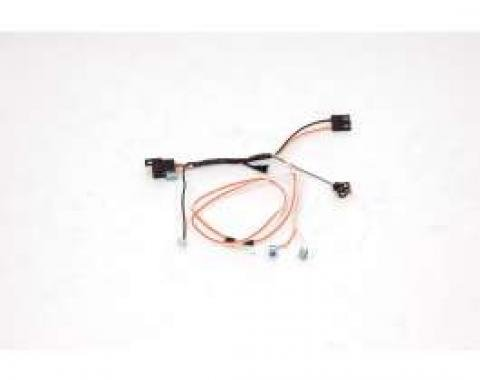 Chevelle Center Console Wiring Harness, For Cars With Manual Transmission, 1967