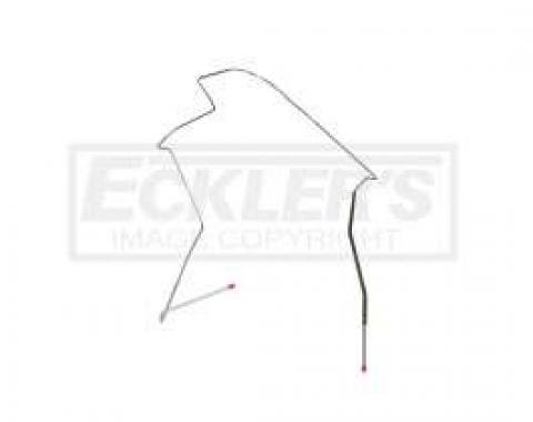 Right Stuff 67 Hardtop, 1/4 - Front to Rear Fuel Return Line CGL6710