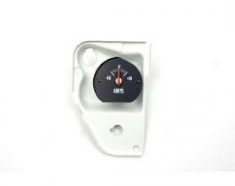 Chevelle Amp Gauge, With Housing & White Numbers, Super Sport (SS), 1971-1972