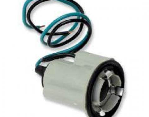 Chevelle Back-Up Light Socket, With Pigtails, 1969-1972