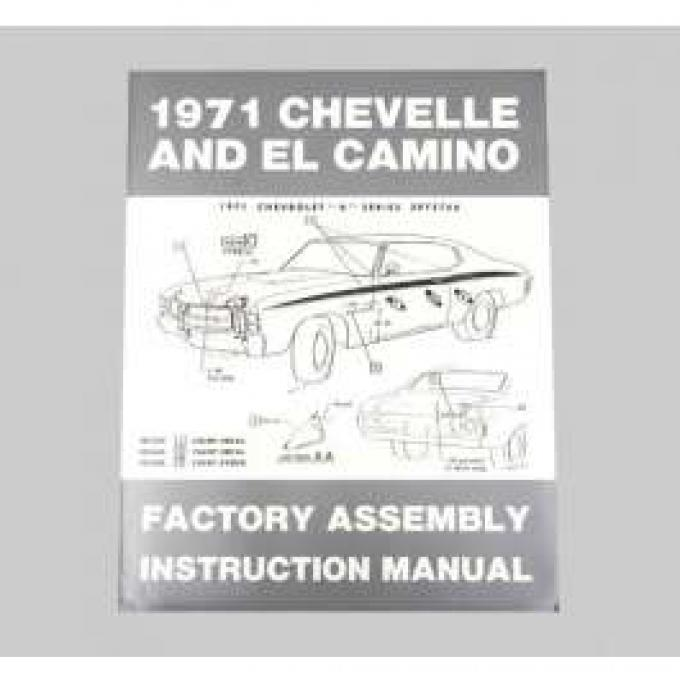 Chevelle Assembly Manual, 1971