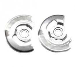 Chevelle Disc Brake Backing Plates, Correct Reproduction, 1973-1977